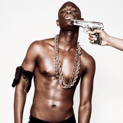 @macphiri21 and his love gun outtake from the #mandem shoot for @fantastics