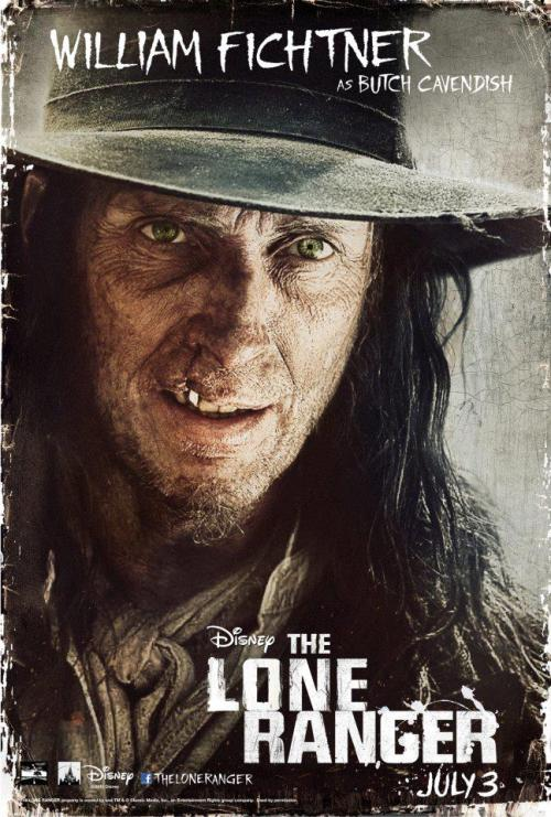 The Lone Ranger | William Fichtner character poster