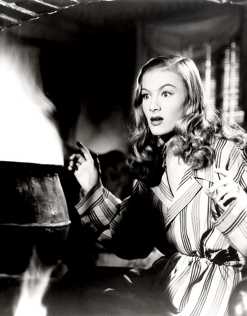 Veronica Lake in a publicity still for I Married a Witch, 1942