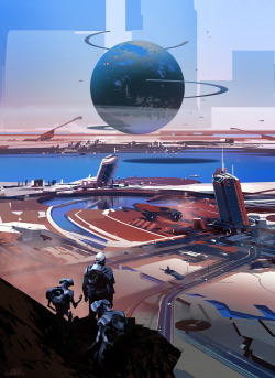 sparth:  personal work.Destiny inspired, yes indeed.