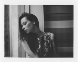 Hattie Watson. LA. 2012. Polaroid 536. (Styling: Julie, HMU: Heather Conlan)