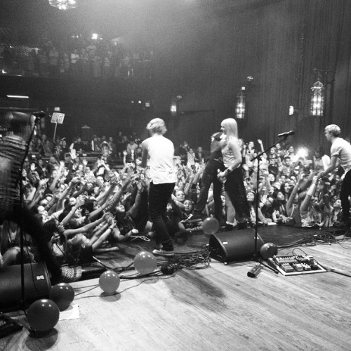 #loud #r5family you rock our world!