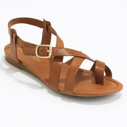 I just bought these sandals tonight. This photo doesn't do them justice!