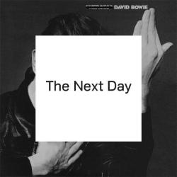 "Be sure to head over to iTunes NOW to stream the entire ""The Next Day"" album from David Bowie."