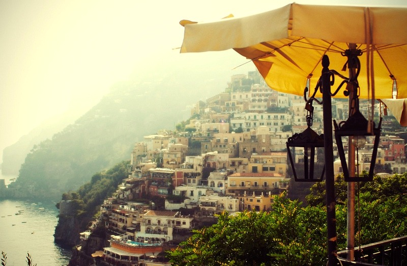 | ♕ |  Villa of Positano - Amalfi coast  | by © Silvia Sala