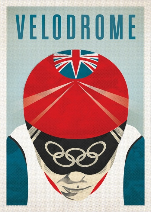 Velodrome by MALDESIGN  http://cargocollective.com/maldesign  I really like this poster.  Not because it is Team GB, but because it promotes track cycling.  We need to cherish and maintain our attention on this important cycling discipline.