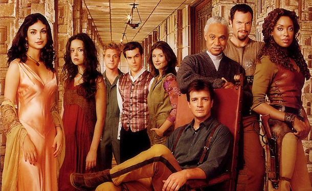 "Joss Whedon ""would love to"" return to Firefly  What's that noise, you say? Only the sound of a million Whedonites crossing their fingers in the hope that the Buffy and Firefly creator's latest pronouncement on a return to the space cowboy series doesn't turn out to be much ado about nothing.  Since Fox cancelled Firefly in 2002, the postscript to many a geek prayer and birthday candle wish has been a revival of Whedon's sci-fi western, and now the man himself has joined the chorus, reiterating his desire to, in his words, ""get the old gang back together"".  Speaking to the Toronto Sun, Whedon said ""It's something I would love to do"", continuing, ""Part of me is like, 'God, it would be great when I finish Avengers 2 to do that'"".  ""When I made Serenity, I said here's one thing I'll never do again - a movie based on something that some people know about and some people don't, with tons of characters who all know each other and who you have to introduce. And then my second movie was The Avengers.""  Referring to Firefly's cancellation, Whedon admitted, ""I'll never really accept it. And I always, in the back of my head think, 'What if I could get the old gang back together?'"".  However much we, or he, want that to happen, there's the small matter of his current slate to get out of the way. On top of The Avengers 2, Whedon is heading up in-development ABC series Marvel's S.H.I.E.L.D., after which point, who knows? According to the writer/director, he'll be down-scaling after The Avengers sequel: ""I suspect very strongly that after Avengers 2 the next thing I do will be a one-man show. Possibly one monkey.""  Unless that is, a certain franchise's eighth or ninth instalment comes calling?"