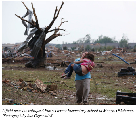 newyorker:  A slide show of images from Oklahoma: http://nyr.kr/12rpCVH