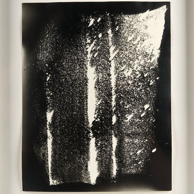 "Gyorgy Kepes (1906-2001, American), photogram: ""Sand…"", 1970"