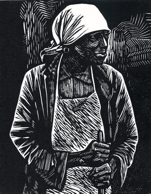 themostgrotesque:  drawpaintprint:  Elizabeth Catlett: Survivor (1983) Woodcut print  Elizabeth Catlett woodcuts are fucking perfect. She just gets the mark of a woodcut and her expressions are always on point. Check out some of her prints that are in color. Breathhhhh takkkkinng