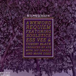 "ughhblog:  AWKWORD (New York) - ""Requiem"" ft. SOULSTICE, ESS VEE, CUZOH! BLACK (Prod. by ATG) /// UndergroundHipHopBLOG.com  The last time Slim K and AWKWORD connected it was for the Chopstar's Slowdown of AWKWORD's Harry…  View Post"
