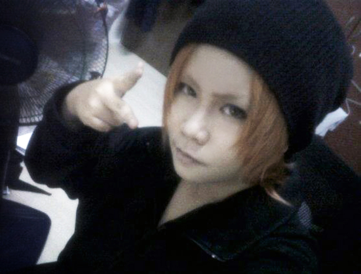 testing misaki yata 's make up =w=~cant wait to cos him! but i have to wait for that stupid saru = []=)