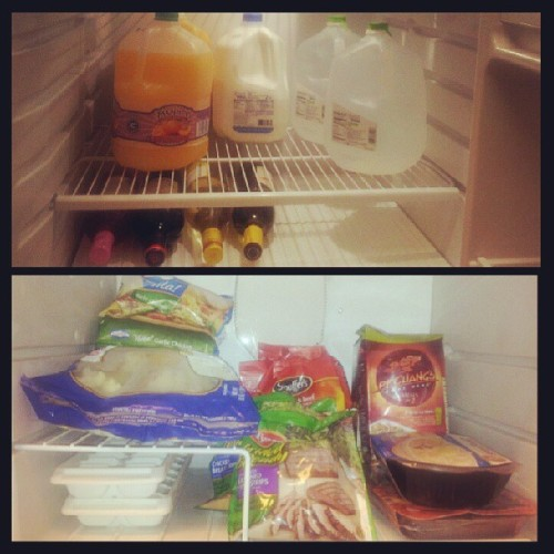 #Happy #Saturday #Groceries … and for dinner…  #InstantNoodles and #CupcakeWine Red Velvet