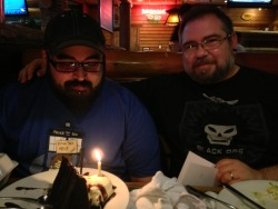 Birthday surprise at Smokey Bones. ^_^
