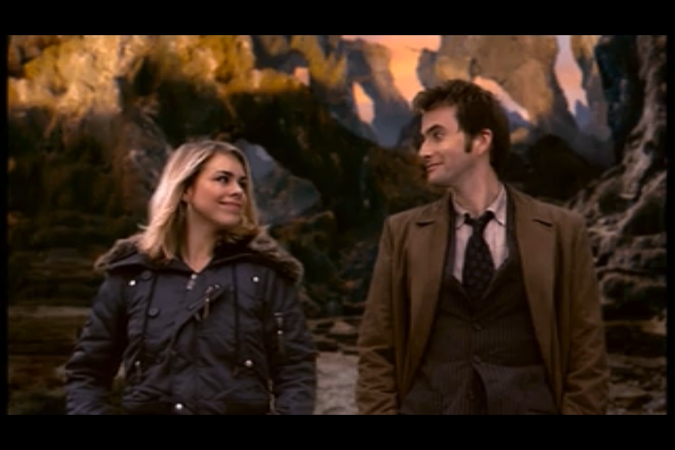 Now. I love the Ponds and Eleven just as much as every other Doctor Who fan. But I think Ten and Rose's relationship is severely over looked.