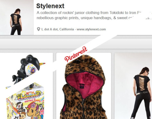 We started a Pinterest! Follow us, so we can follow you! <3