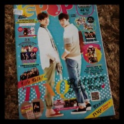 Reading my epop! #epop #epopmalay #night #magazine #tvxq #cover