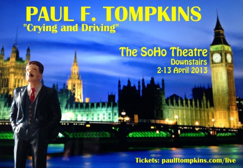 "LONDON, ENGLAND I will be performing standup comedy in London for the very first time next month. This will not be my first time performing in an English-speaking country other than my own, but my first time performing in an English-speaking country that invented English-speaking countries. Having an audience there to witness me doing these shows will increase the quality of the shows CONSIDERABLY. Entire City of London: won't you be a willing volunteer in my Grand Experiment? Tickets: HERE. Click here to see the exciting, behind-the-scenes ""making of"" this image!"