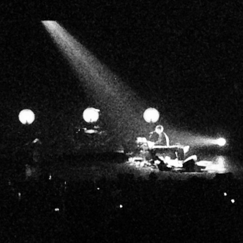 James Blake encore at Terminal 5. Cover of Case Of You by Joni Mitchell