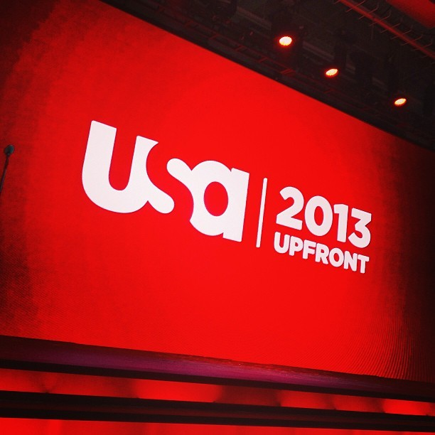 Another year, another USA Upfront. #upfronts #usa #suits #nyc  (at Pier 36)