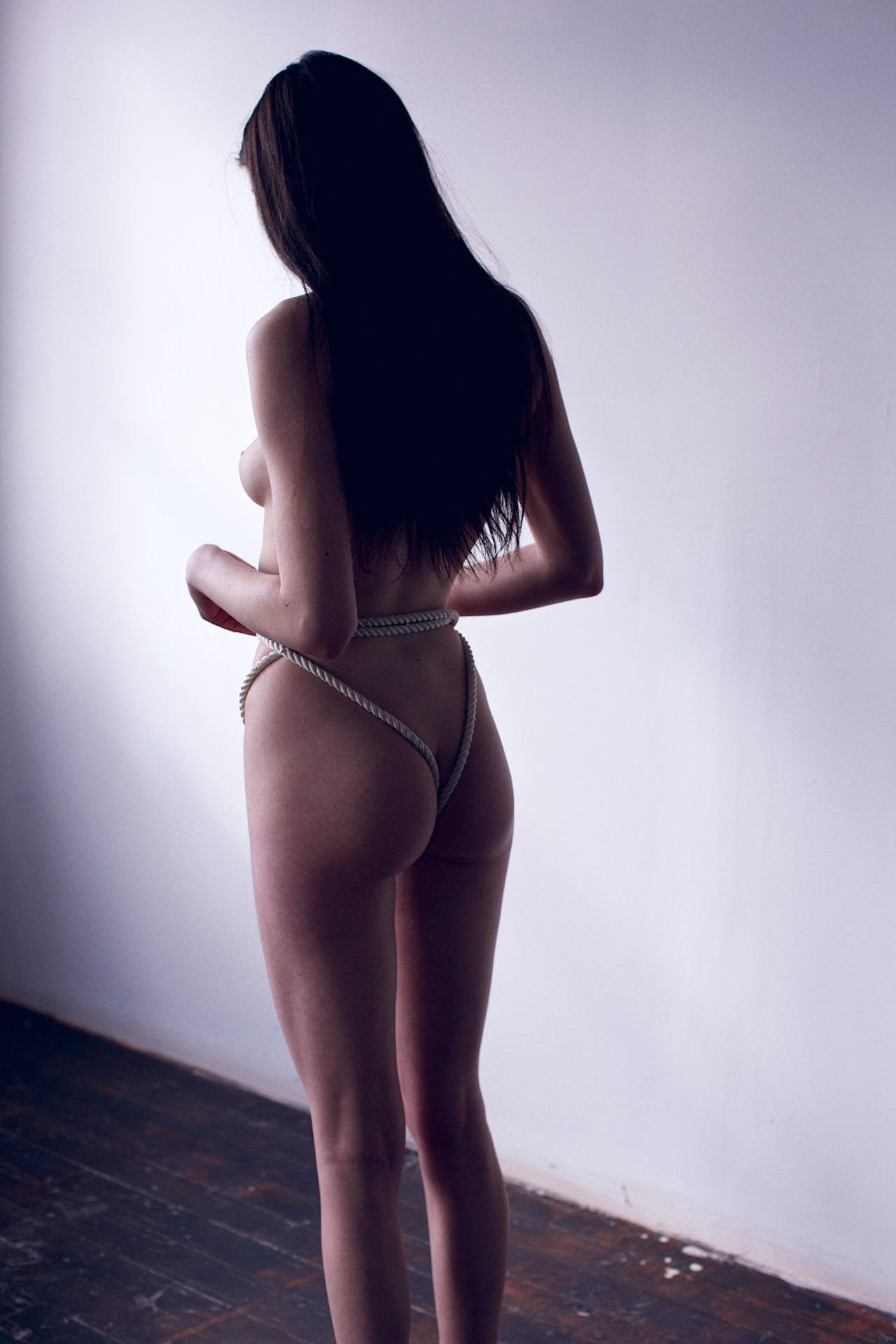 creativerehab:  Rope thong.