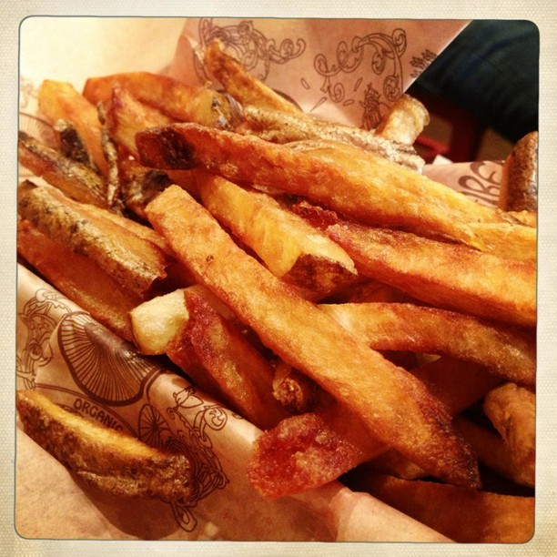 Can't have a Bareburger without fries