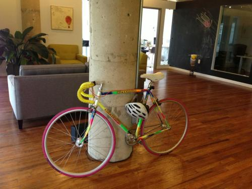 studiogood:  In honor of last week's Bike To Work Day…showing our true colors!