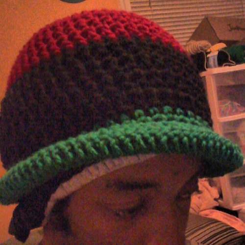 #justfinished liberation (rbg) bucket cap for @jaeoctober #crochet #art #fashion #style #support #natural #forsale $15
