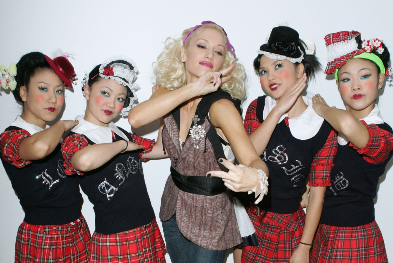 """Before We Embrace Gwen Stefani's Comeback, She Owes Us An Apology Time Magazine says that it's about time that Gwen Stefani apologizes for her infamous """"Harajuku Girls"""" (the ones that Margaret Cho compared to blackface at the time). Read the full article at Time.com"""
