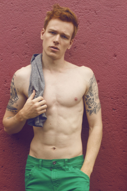 Hot ginger spotted