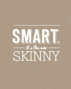 thedapperproject:  Smart It's The New Skinny