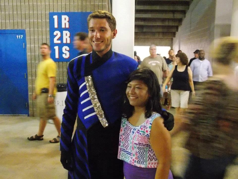 I'm pretty sure this is Sam from the Blue Devils, either way I loved their show last year.