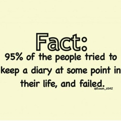 #Fun #Fact - I #write in my #journal every single #NIGHT!