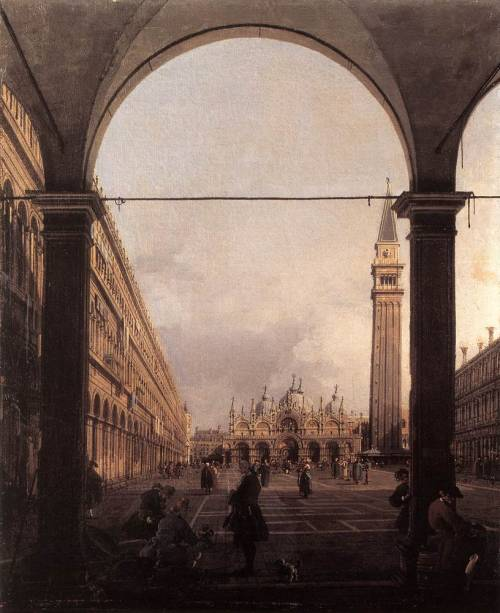 southernrapcompilation:  CanalettoPiazza San Marco, Looking East1760