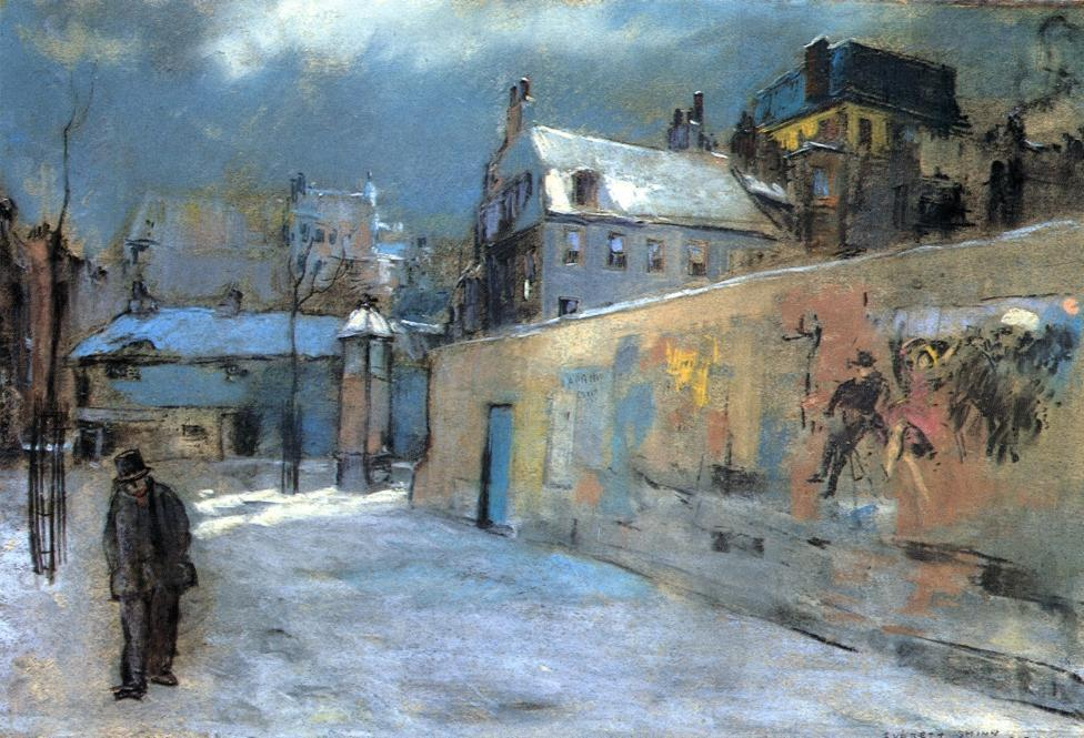 "Everett Shinn - ""After the Rehearsal"", 1912 Pastel on paper"