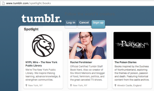 We are honoured & thrilled to be Spotlighted by Tumblr for Poison Diaries in the Books section (having been in the Science section since Oct 2012) where we have built a community of nearly 100,000. Creating & publishing all cross platform content, we also deliver community management, audience building and marketing for the brand across 7 platforms, including a brand new app which is available now on iOS and Android.