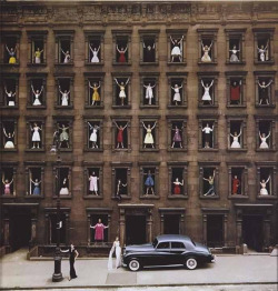 'Girls in the Windows' by Ormond Gigli 1960