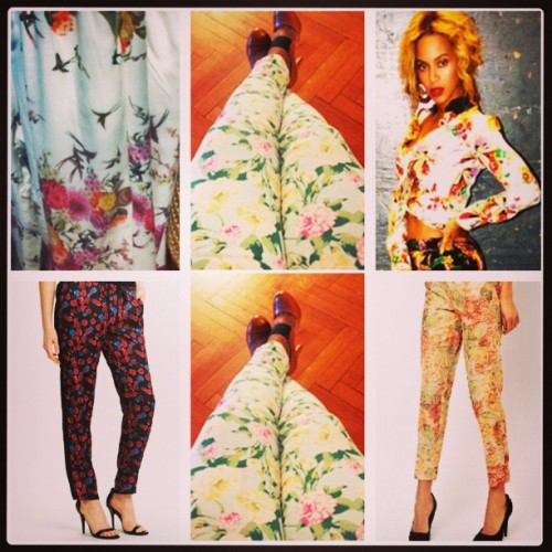 Weekend Style | The Floral Pants Trend (www.osochic.com) #fashion #instastyle #trends #instafashion