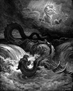 """Destruction of Leviathan"", Gustave Dore, 1865."