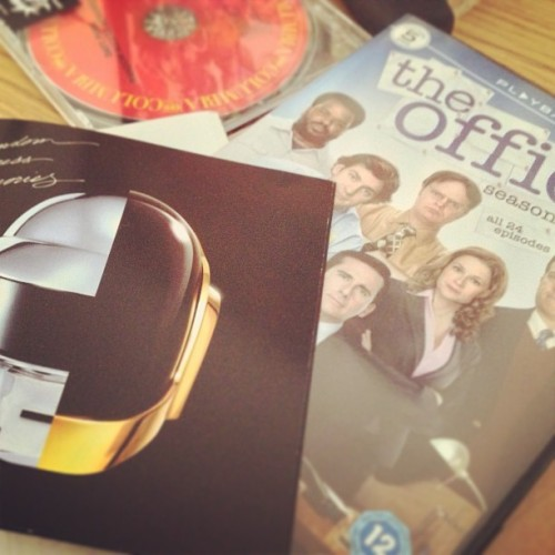 Nice little something to cheer me up #daftpunk #theoffice