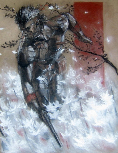 gameranx:  Naked Snake by ~devious101