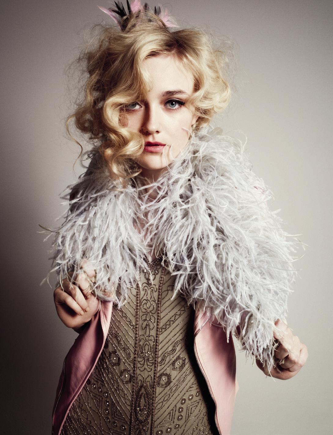 Dakota Fanning photographed by Cedric Buchet for Wonderland Magazine, 2012