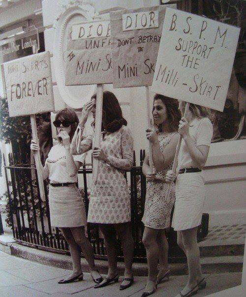 modrules:  mini skirts forever