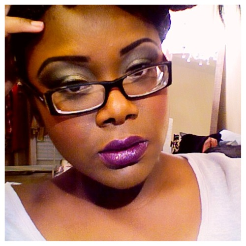 Hey loves!! Keyondra here… Trying to get better at doing makeup! Practice makes perfect right? #shrug