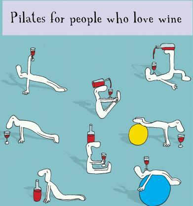 twimynx:  Now here's a way to enjoy Pilates.   Casey