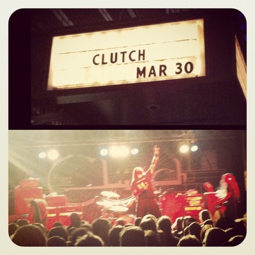 #clutch #orangegoblin with @lucky23 #metalshit (at Roseland Theater)