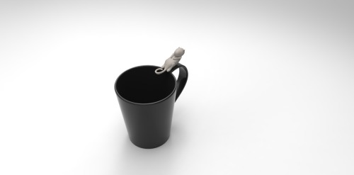 Otter , designed to add joy in our everyday life (straw | Tea bag | Spoon holder )