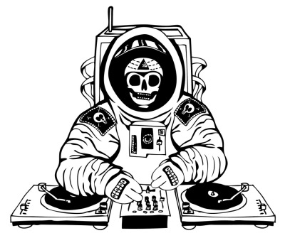 fer1972:  DJ Astronaut by Ville Valkeisenmaki (Many thanks to oxane)