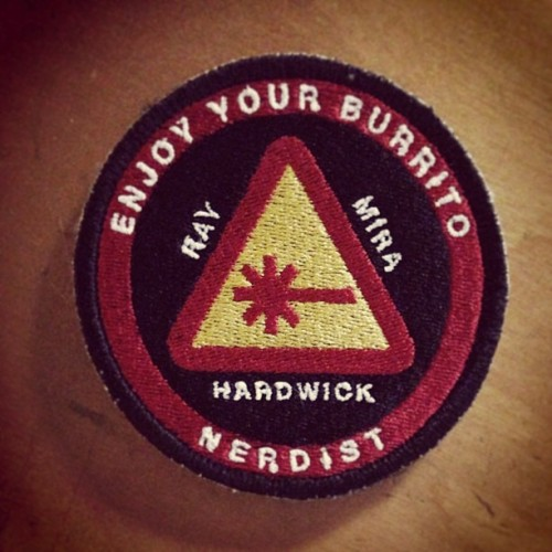 jonahray:  Thanks for the @nerdist NASA badges @pagesbs! I'm sure @mattmira will love them.
