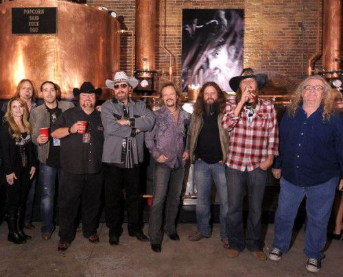 Hank Jr, Travis Tritt, Kid Rock, Colt Ford, Jamey Johnson, Josh Thompson and Richard Young